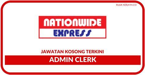 jawatan kosong terkini nationwide express kerja kosong