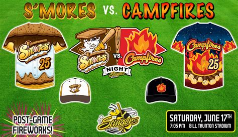 Patio Night Club Schedule S Mores Vs Campfires Night Willmar Stingers Willmar