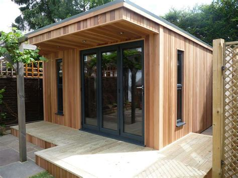 Outdoor Office Shed by Garden Offices Working From Your Shed Studio Sheds