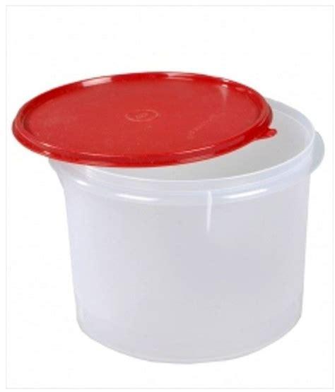 Tupperware Crispy Storer 1 tupperware storer medium 3 ltrs plastic containers buy at best price in india