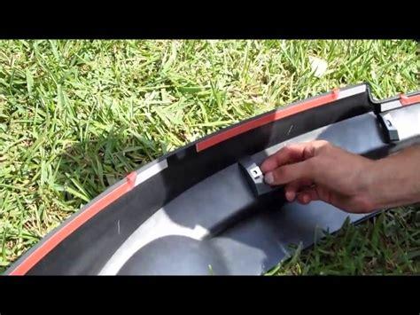 how to install hfp lip kit 2008 2010 honda accord coupe diy hfp aero rear lip kit