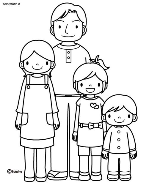 preschool coloring pages my family m family members coloring sheets preschool coloring pages