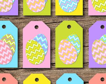 printable easter egg gift tags popular items for easter gift tag on etsy