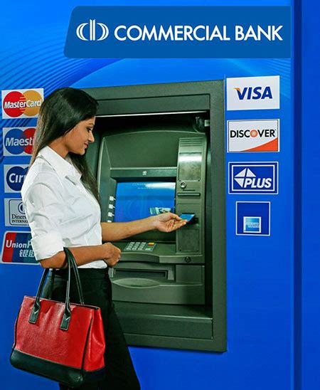 commercial bank sri lanka commercial bank sri lanka commercial bank atms set new
