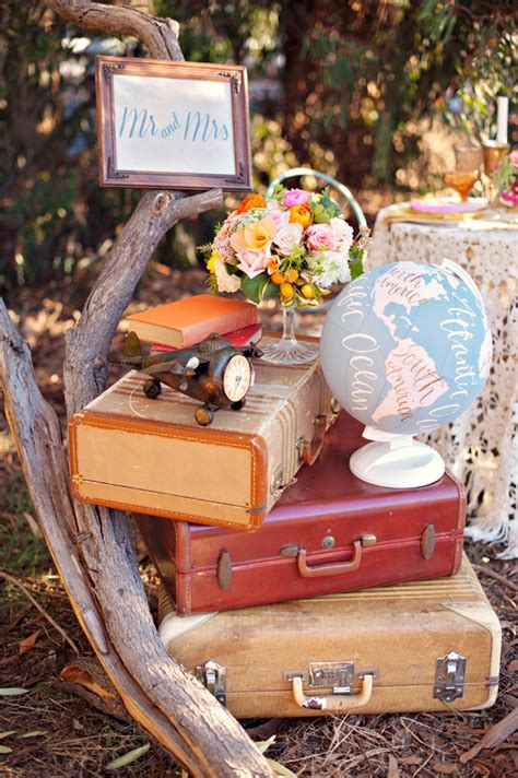 12 creative travel themed wedding ideas kate aspen