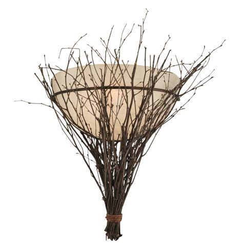 Twig Wall Sconce Twigs Wall Sconce