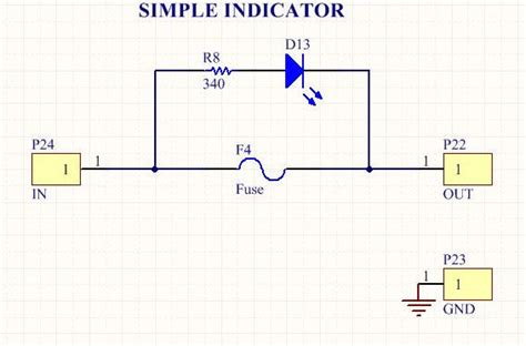 blown fuse indicator led circuit design and implementation of a 10 linear power supply 12
