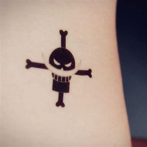 女仆tatoo 海贼王动漫纹身贴h0003 白胡子海贼团