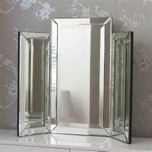 Mirrored Vanity Table Singapore Medium Bevelled Dressing Table Mirror By Decorative