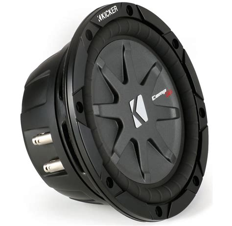 Kickers Limited 4 kicker car audio cwrt67 comprt 6 3 4 inch subwoofer speaker dvc 1 ohm 40cwrt671 limited