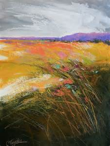 abstract landscapes carol engles chartreuse field five abstract