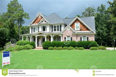 large luxury homes large luxury home for sale stock images image 32075094