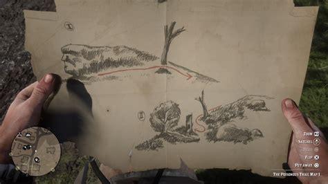 Sketched Map Rdr2 by Dead Redemption 2 Zo Werkt De Poisonous Trail