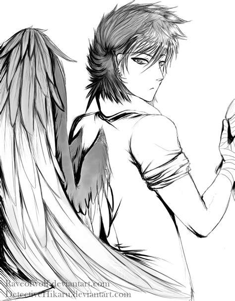 imagenes de emo con alas emos con alas de angel para dibujar imagui