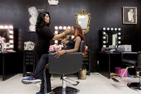 hir salons in las vegas with picctures of haircuts valley s first salon catering to plus size women opens in