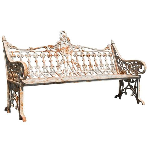 coalbrookdale bench late 19th century english coalbrookdale bench for sale at
