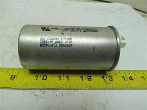 aerovox condensador de z24p2460m 60uf 240v 2 quot dia ebay