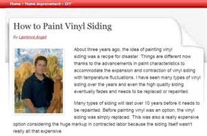 can you paint vinyl siding apps directories
