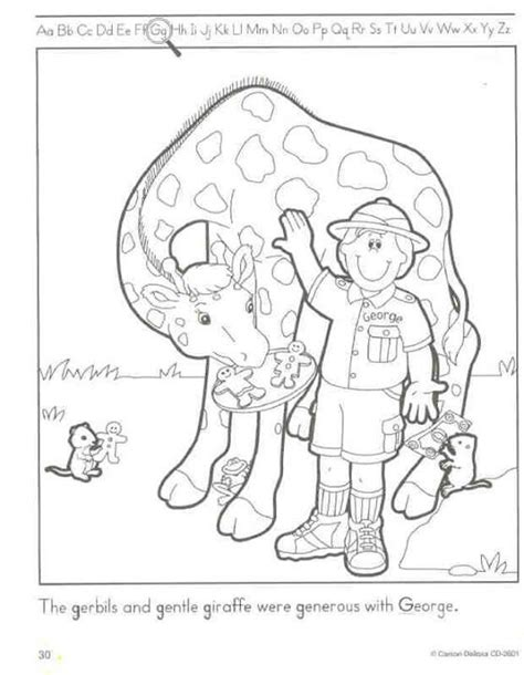 coloring page of a zookeeper zoo keeper coloring pages theme people in the