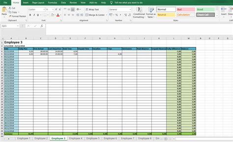 Monthly And Weekly Timesheets Free Excel Timesheet Template All Hours Timesheet Template Excel Free