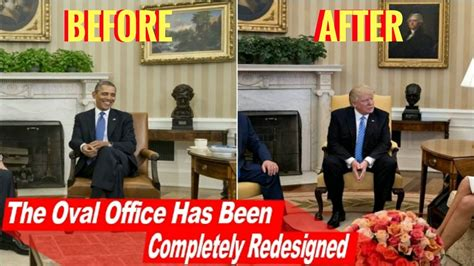 trump oval office desk news the oval office has been completely redesigned
