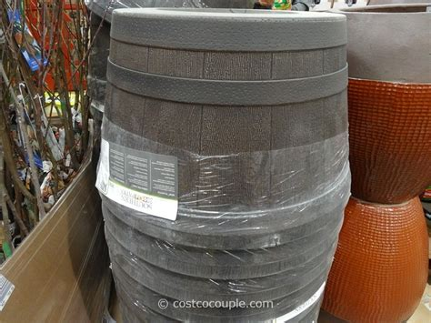 Costco Whiskey Barrel Planter by Southern Patio 25 Inch Whiskey Barrel High Density Resin