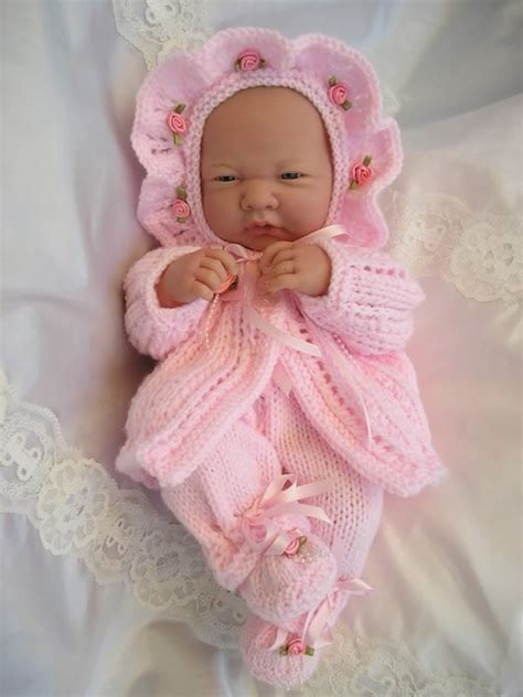 baby doll knitting patterns uk baby dolls knitting pattern matinee set for 14 15