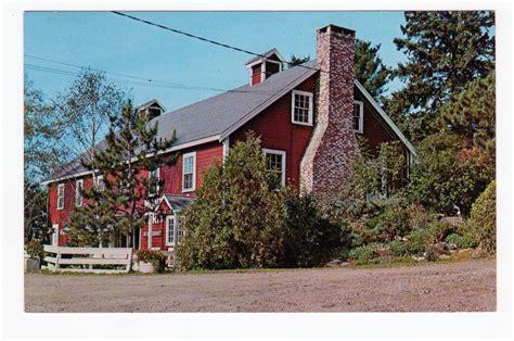 Product Categories Maine Jackie S Vintage Postcards Rock Garden Inn Maine