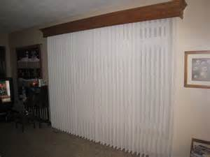 Vertical Blind Cornice Wood Cornice And Fabric Wrapped Vertical Blinds