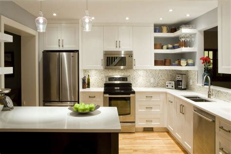 open shelves kitchen design ideas 55 open kitchen shelving ideas with closed cabinets