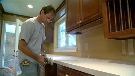 Simple Kitchen Backsplash How To Install Solid Surface Countertops Today S Homeowner