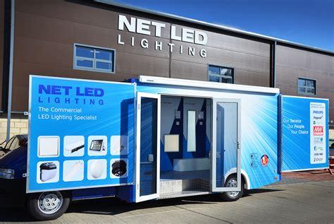 net led lights the net led lighting mobile exhibition vehicle net led