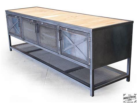 Custom Industrial Kitchen Island / Reclaimed Wood & Steel