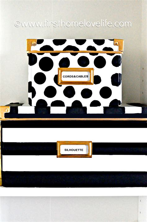 decorative boxes love how the finial repeats the shape kate spade inspired storage boxes first home love life