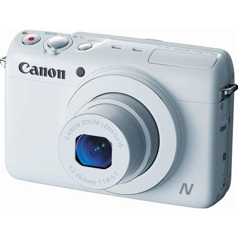 Kamera Digital Canon Powershot N100 canon powershot n100 digital white 9169b001 b h photo