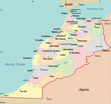 world map of morocco maps of morocco map library maps of the world