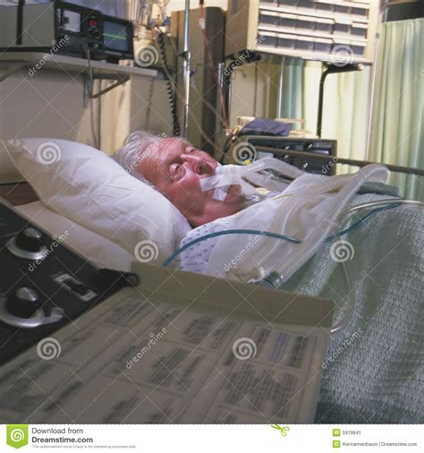 man in hospital bed elderly man in hospital bed stock image image 5919841
