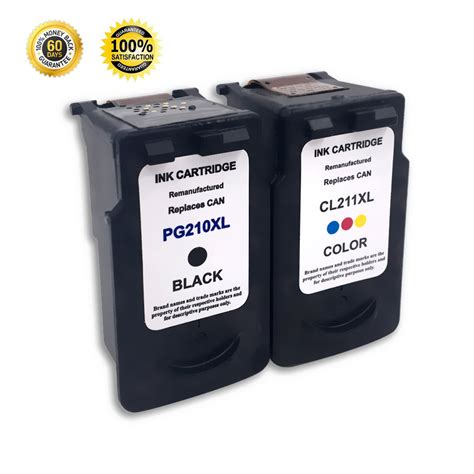 reset printer mp250 canon 2 pack ink cartridge for canon pg 210xl cl 211xl pixma