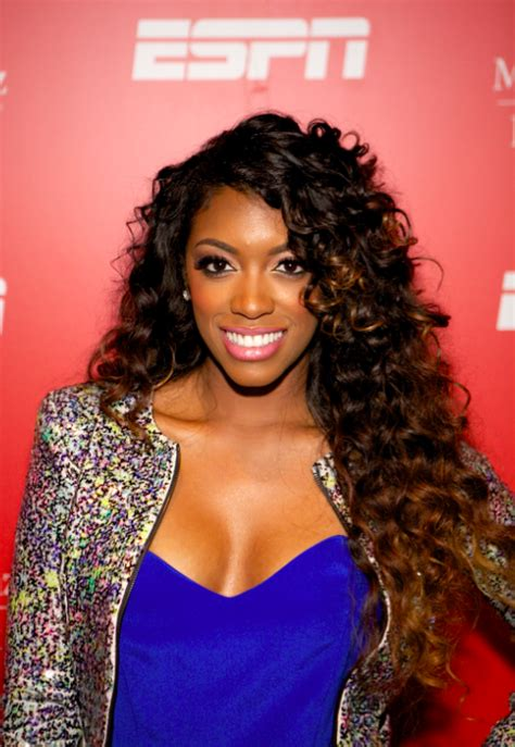 porshia williams with out wig rhoa star porsha williams responds to media take out