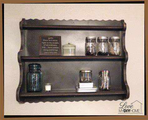 diy jar shelf re do my diy home