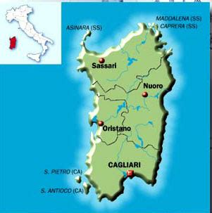 printable road map of sardinia city and road map information route planner and map