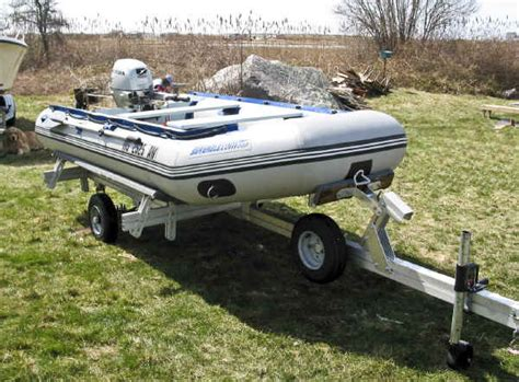 inflatable boat trailer winch castlecraft trailer for inflatable boat and rib trailex