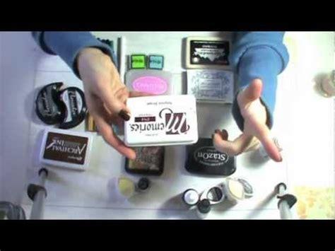 tutorial timbri scrapbooking tutorial attrezzature scrapbooking inchiostri toni per