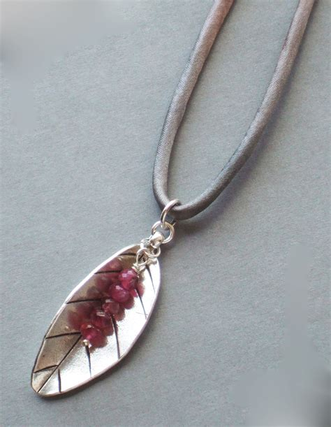 Handmade Silver Necklaces - handmade thai silver pendant necklace handmade jewelry
