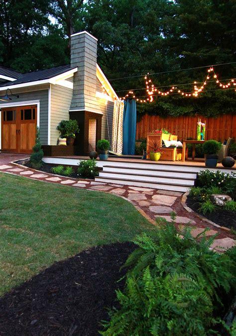 turn  small backyard   entertaining oasis