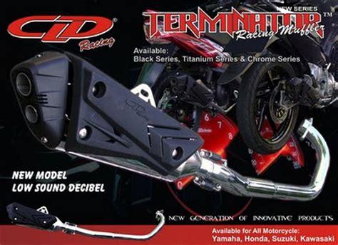 Knalpot Cld Terminator F 150 pin knalpot ahrs f4 on