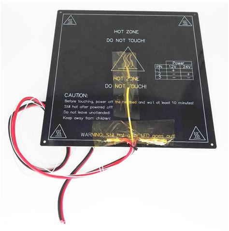 heatbed resistor 28 images new 3d printer parts mk2b heatbed led resistor cable 100k ohm