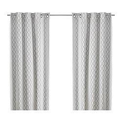 Gardinenschals Beige by Curtains Blinds Ikea