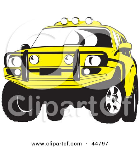 yellow jeep clipart jeep grill clipart