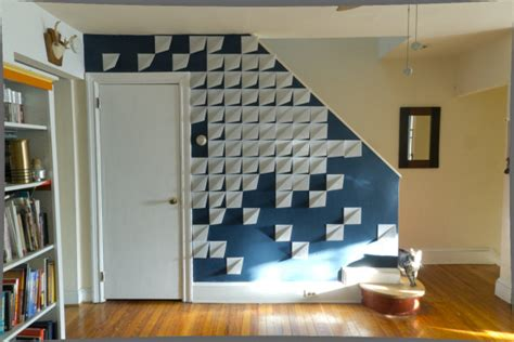 modern diy wall make it modern diy 3d felt wall panels design milk